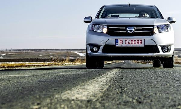 Dacia Logan Algeria November 2014. Picture courtesy of autoevolution.com