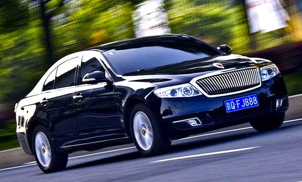 FAW Hongqi H7 China May 2013