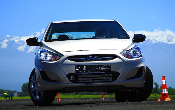 Hyundai Accent World June 2013. Picture courtesy of idrive.kz