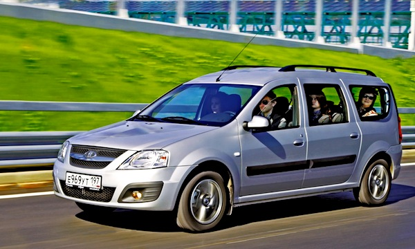 Lada Largus Kazakhstan July 2013. Picture courtesy of zr.ru