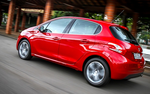 Peugeot 208 Brazil May 2013. Picture courtesy of carplace.virgula.uol.com.br