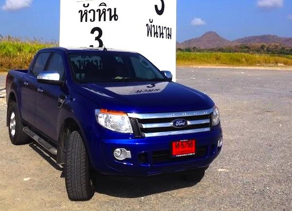Ford Ranger Thailand June 2013