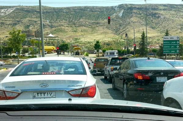 Hyundai Sonata Iraq June 2013