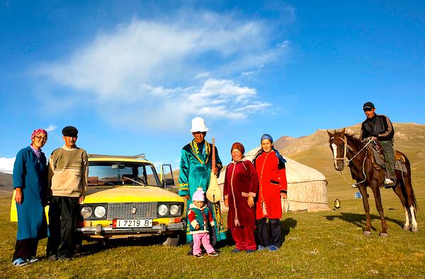 Kyrgyzstani family