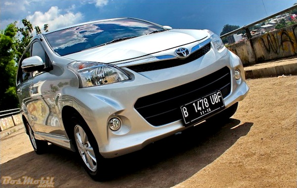 Toyota Avanza Indonesia May 2015