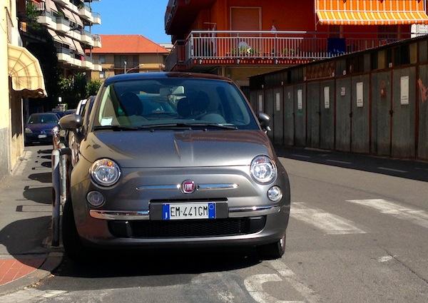 Fiat Nuova 500 Italy August 2013