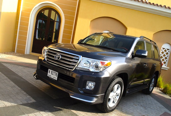 Toyota Land Cruiser Yemen June 2013. Picture courtesy of Motoring Middle East