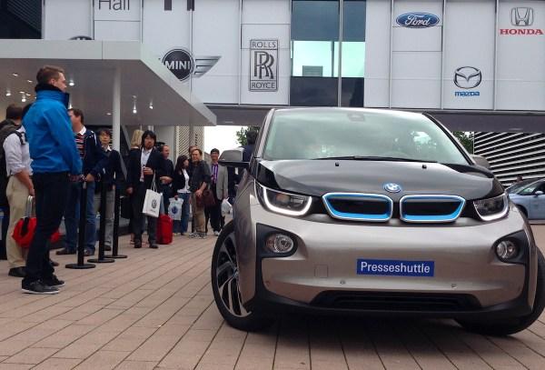 11 BMW i3 Frankfurt Auto Show September 2013b