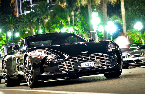Aston Martin One-77 Monaco 2013. Picture courtesy of Seber Giebers