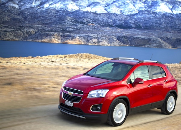 Chevrolet Trax. Picture courtesy of largus.fr