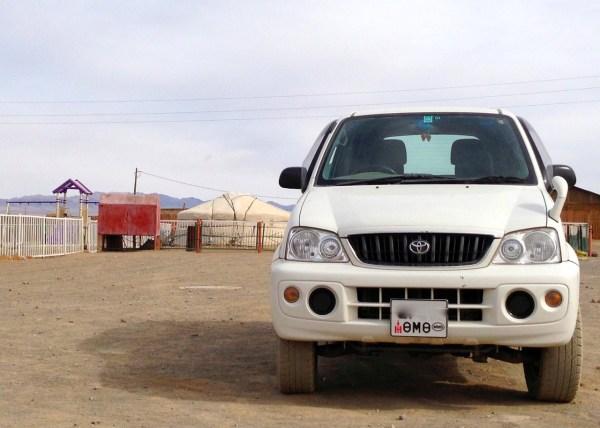 7 Toyota Rush Bayandalai