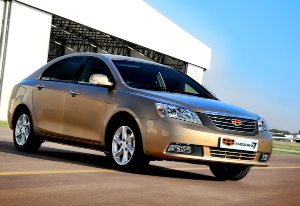 Geely Emgrand EC7 Ukraine September 2013