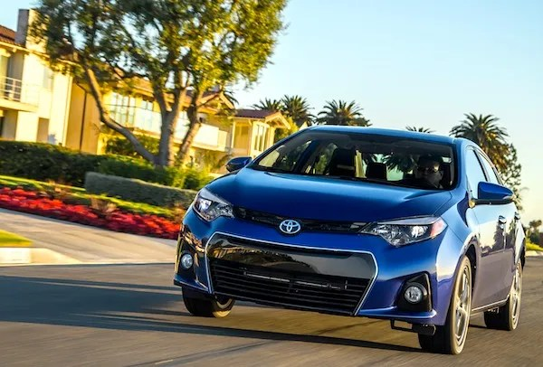 Toyota Corolla USA September 2013. Picture courtesy of motortrend.com