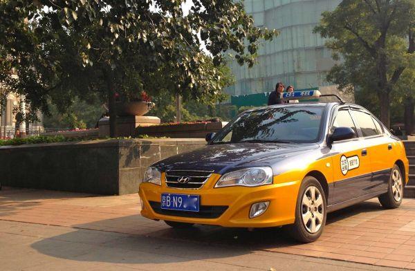 3 Hyundai Elantra taxi