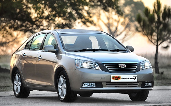 Geely Emgrand EC7 Ukraine October 2013