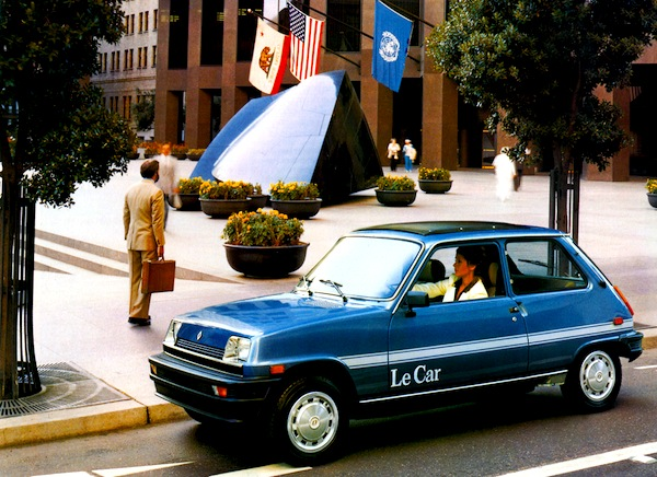 Renault LeCar USA 1980