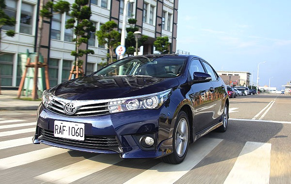 Toyota Corolla Taiwan 2014. Picture courtesy of u-car.com.tw