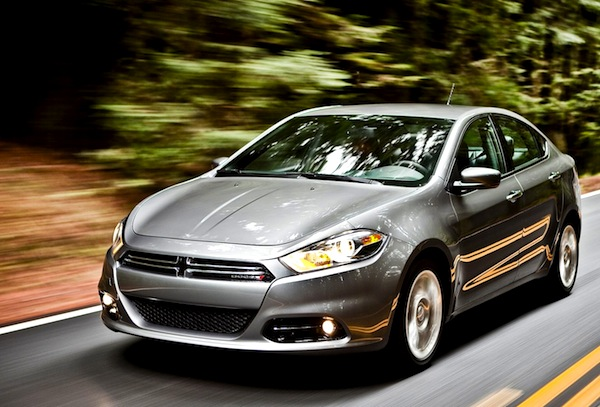 Dodge Dart Canada November 2013. Picture courtesy of motortrend.com