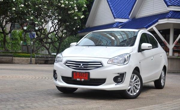 Mitsubishi Attrage Thailand July 2014. Picture courtesy of attrageclubthailand.com
