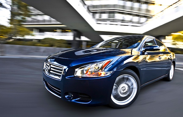 Nissan Maxima USA November 2013. Picture courtesy of motortrend.com