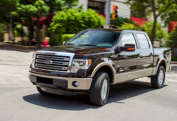 Ford F-Series California 2013. Picture courtesy of caranddriver.com