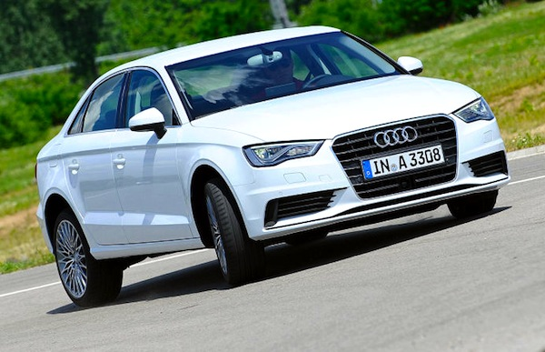 Audi A3 Europe January 2014. Picture courtesy of autobild.de
