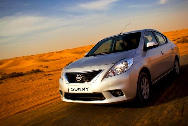 Nissan Sunny Egypt Januar 2014