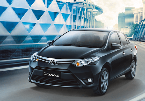 Toyota Vios Philippines January 2014. Picture courtesy of Toyota Vietnam