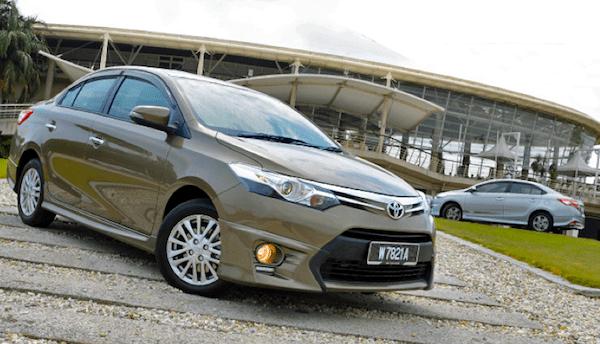 Toyota Vios Brunei 2014