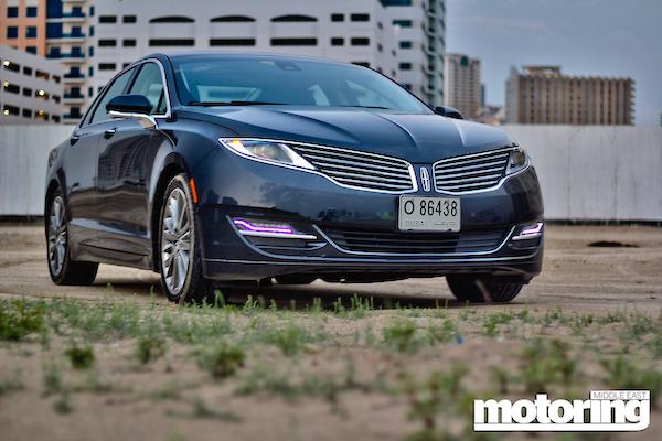Lincoln MKZ UAE 2014
