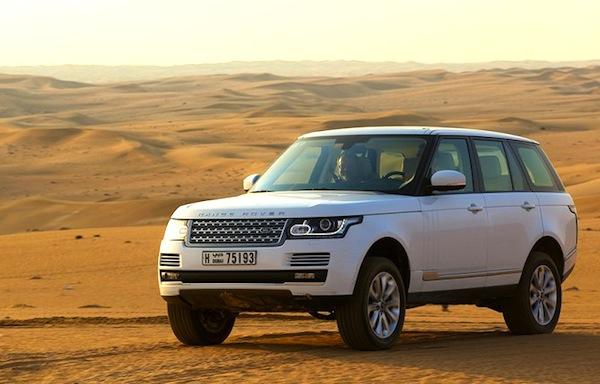 Range Rover Qatar 2013