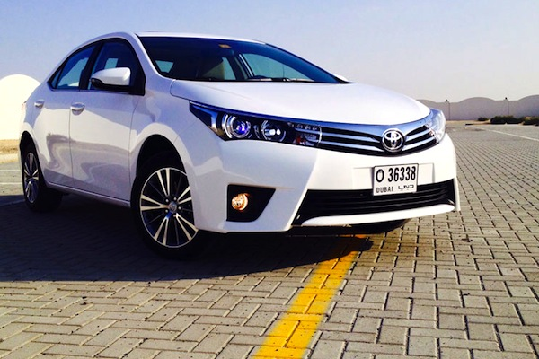 Toyota Corolla Pakistan August 2014. Picture courtesy of Motoringme.com