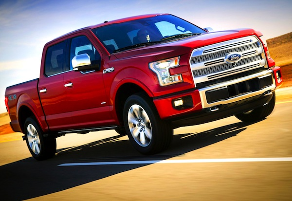2015 Ford F-Series World 2013