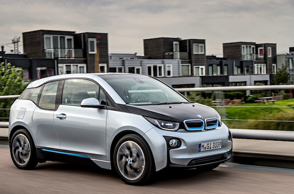 BMW i3 Norway February 2016. Picture courtesy of largus.fr