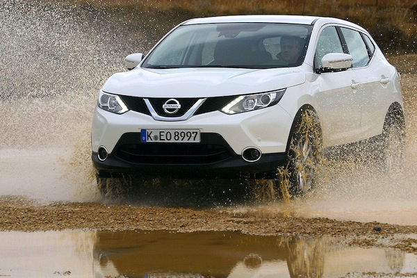 Nissan Qashqai Cyprus May 2015. Picture courtesy of autobild.de