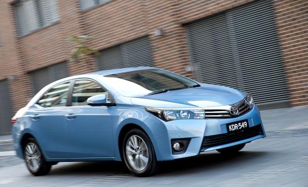 Toyota Corolla Singapore May 2014