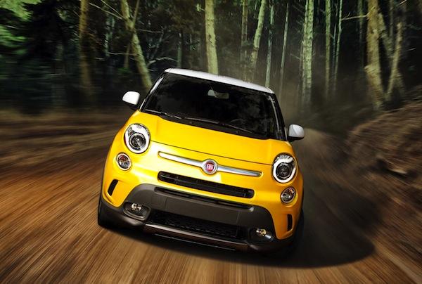 Fiat 500L Trekking USA April 2014