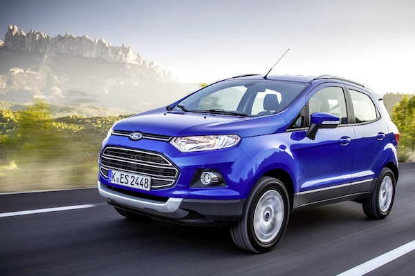 Ford Ecosport Vietnam October 2014. Picture courtesy of largus.fr