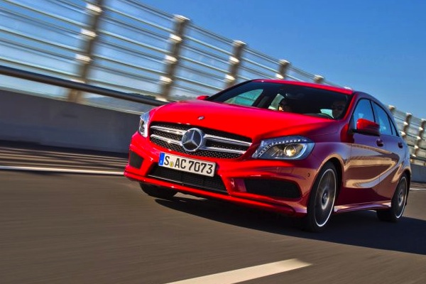 Mercedes A Class Greece September 2015