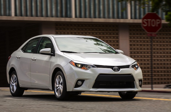 Toyota Corolla USA March 2015. Picture courtesy of motortrend.com