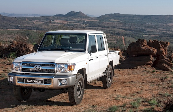 Toyota Land Cruiser Pickup Yemen March 2015