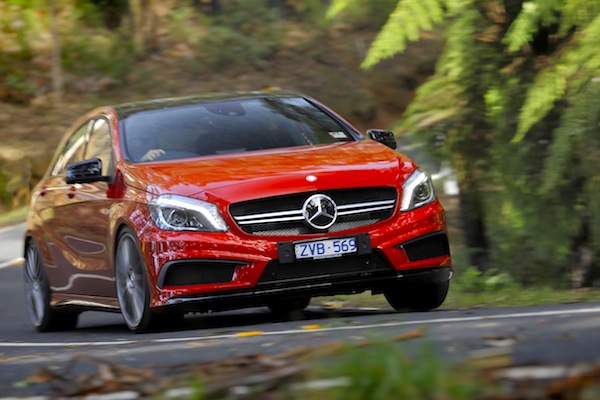 Mercedes A Class Greece August 2015. Picture courtesy of caradvice.com.au