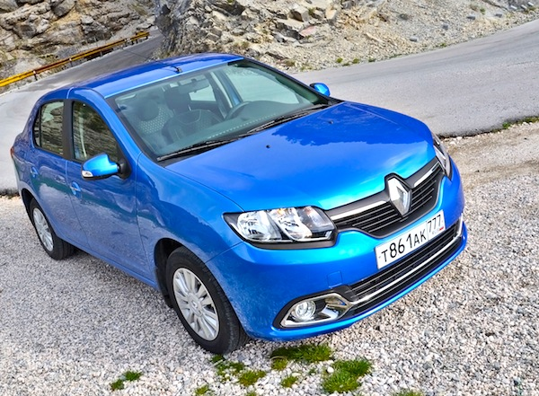 Renault Logan World 2014. Picture courtesy of zr.ru