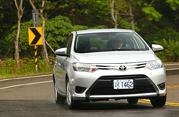Toyota Vios Philippines July 2014. Picture courtesy of u-car.com.tw