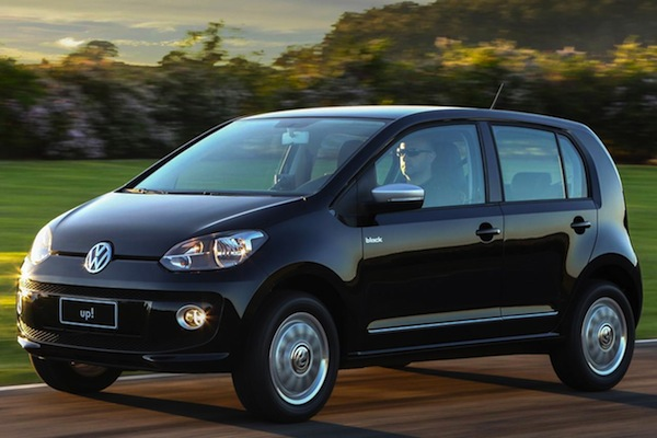 VW Up Brazil May 2014. Picture courtesy of car.blog.br