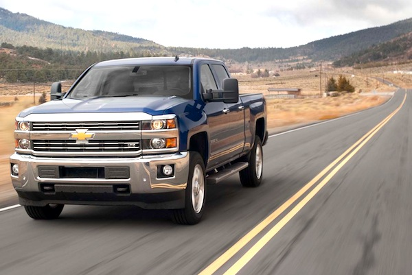 Chevrolet Silverado USA August 2014. Picture courtesy of motortrend.com