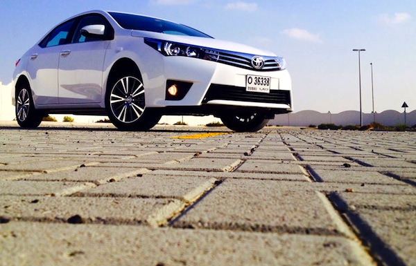Toyota Corolla Saudi Arabia June 2014. Picture courtesy of motoringme.com