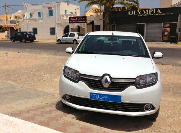 1. Renault Symbol Djerba July 2014