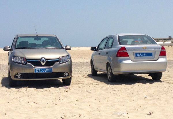 12. Renault Symbol Chevy Aveo Djerba July 2014