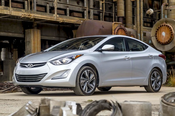 Hyundai Elantra. Picture courtesy of motortrend.com